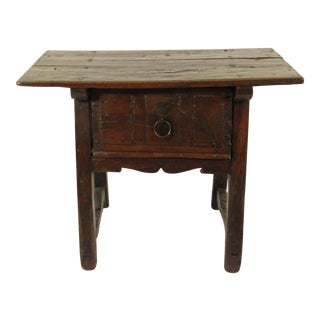 17th C. Spanish Side Table