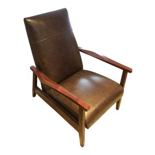 Arhaus Wordsmith Leather Recliner