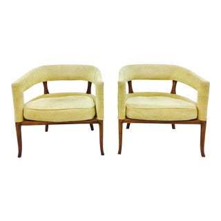 Vintage Mid-Century Arm Chairs - A Pair