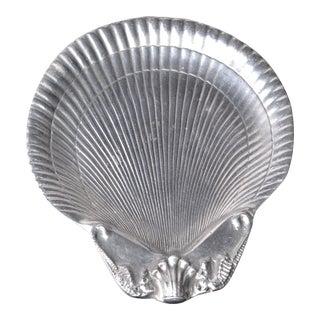 Arthur Court Aluminum Seashell Catchall