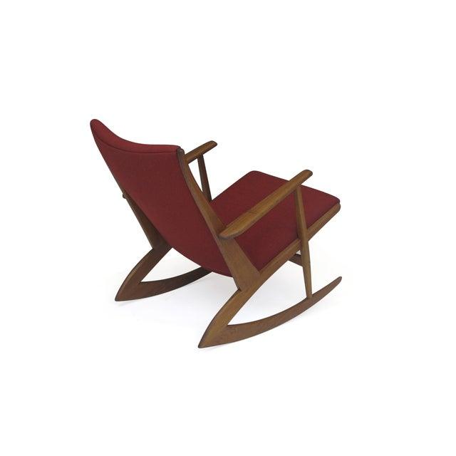 Image of Georg Jensen Mid-Century Danish Rocking Chair