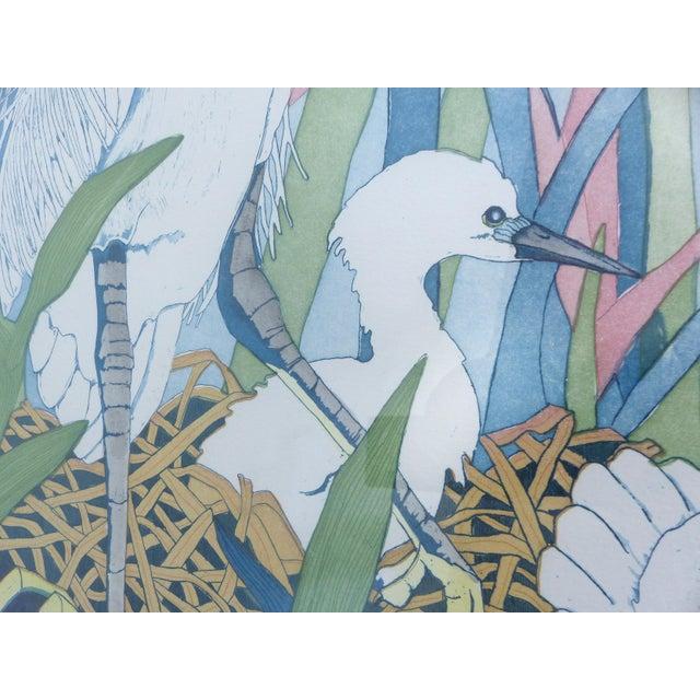 "Judith Hall ""The Rookery"" Intaglio Print - Image 4 of 10"