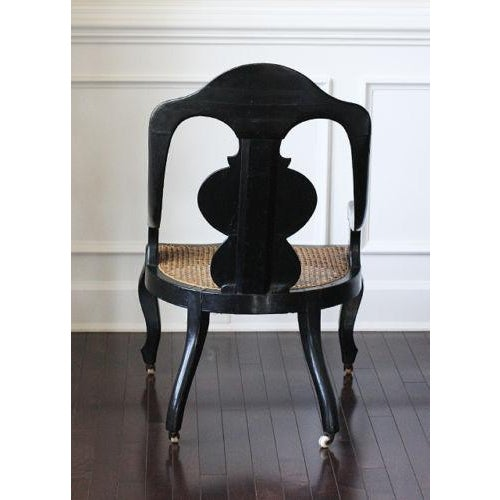 Papier Mâché Mother of Pearl Chair - Image 4 of 4