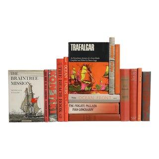 Midcentury Nautical Books - Set of 15