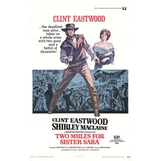 1970 Two Mules for Sister Sara Poster