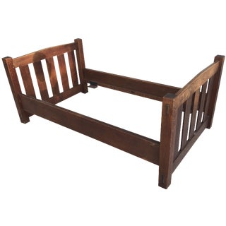 Early 20th-C. Gustav Stickley Day Bed