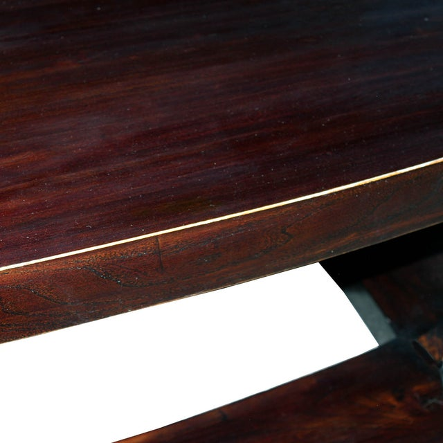 Elm Wood Coffee Table - Image 4 of 4