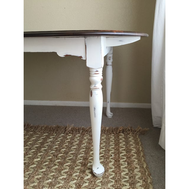 Vintage Restored Dining Table - Image 6 of 9