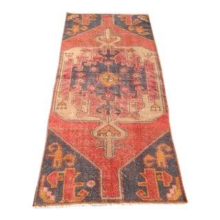 Vintage Anatolian Rug - 3′1″ × 7′9″