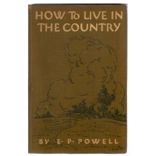How to Live in the Country Book
