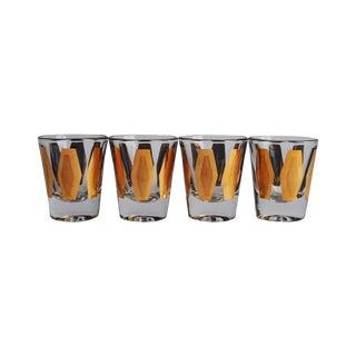 Mid Century Shot Glasses - Set of 4