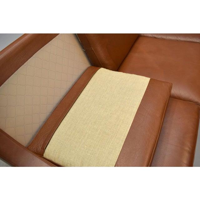 On Hold - Borge Mogensen Style Danish 3 Seater Leather Sofa - Image 6 of 10