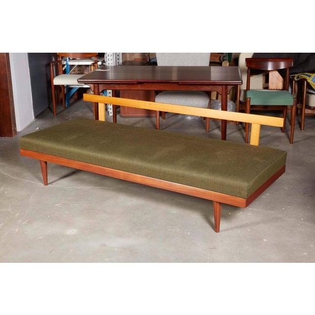 Exceptional Mid Century Green Sofa Daybed By Ekornes Decaso
