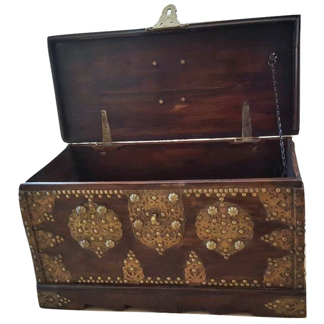 Image of Royal Antique Style Treasure Trunk Coffee Table