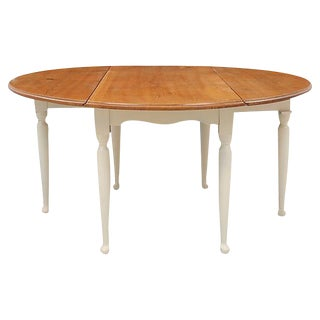 Drop Leaf Farm House Dining Table