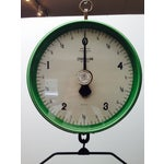 Image of Amazing Vintage Chatillon Green Hanging Scale