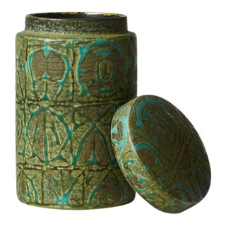 Nils Thorsson ceramic jar with lid