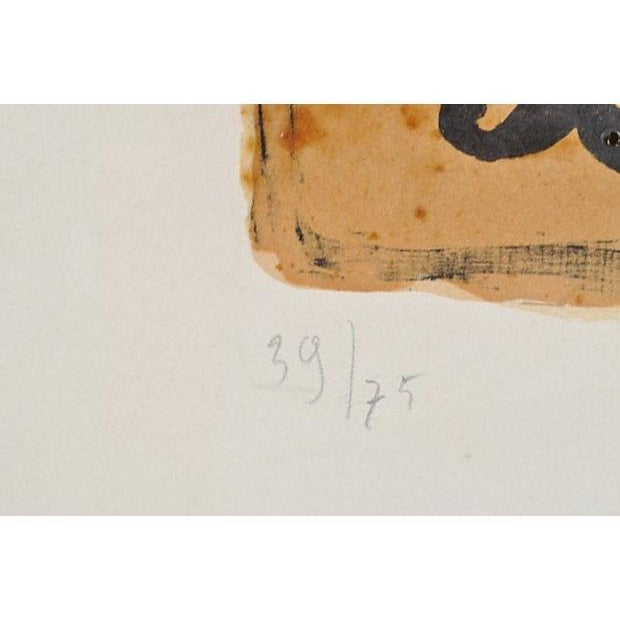 """Image of Vintage """"Bird Vii"""" Lithograph by Georges Braques"""