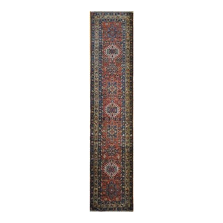 Surena Rugs Antique Handmade Persian Heriz Runner - 2' 10'' x 14' 8''