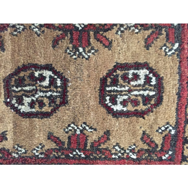 Turkaman Persian Rug - 1′7″ × 2′3″ - Image 5 of 9