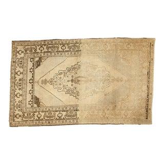 "Vintage Oushak Carpet - 4'11"" x 8'1"""