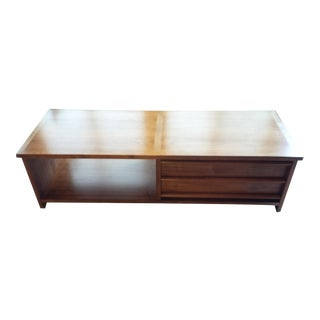 Lane Mid-Century Modern Walnut Coffee Table