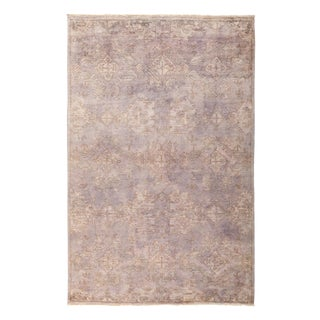 "Vibrance, Hand Knotted Area Rug - 6'2"" X 9'6"""
