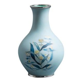 A Japanese Cloisonné Enamel Vase by Tamura circa 1960 (KM027)