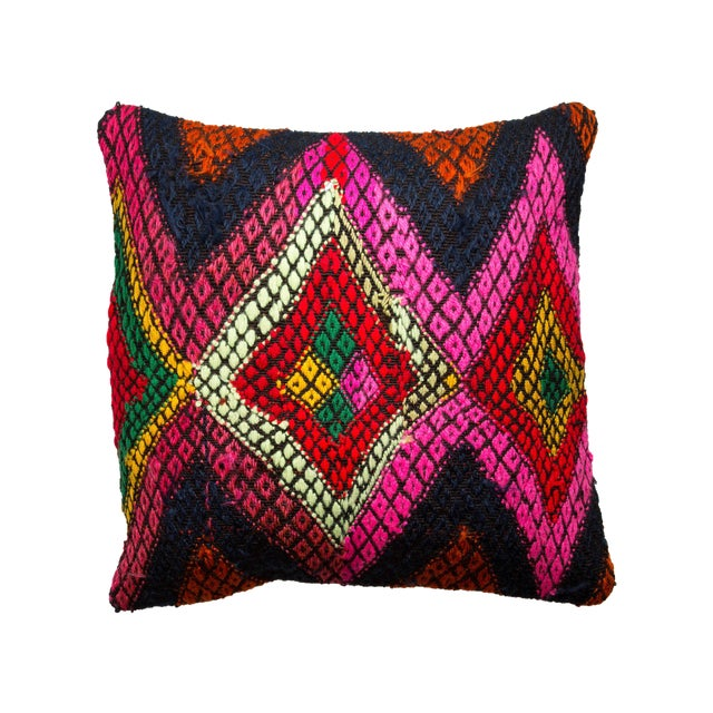 Multicolor Kilim Pillow Case - Image 1 of 3
