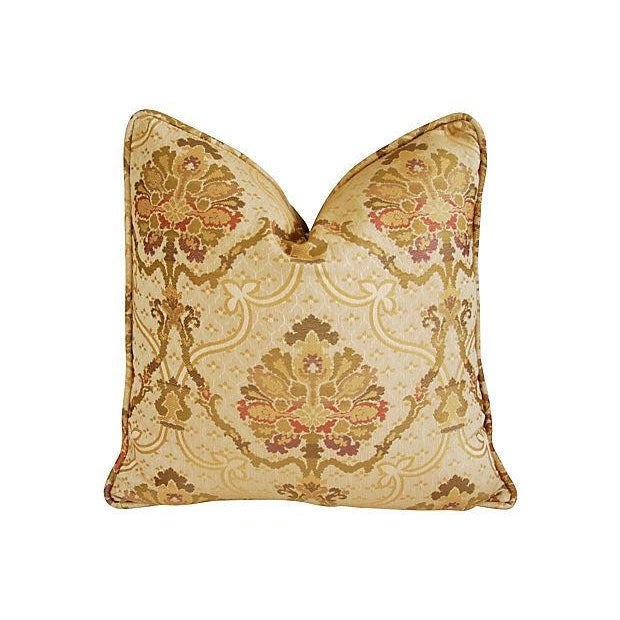 Custom Italian Old World Tapestry Pillows - A Pair - Image 2 of 7