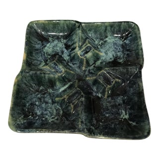 McCoy Green Ceramic Ashtray