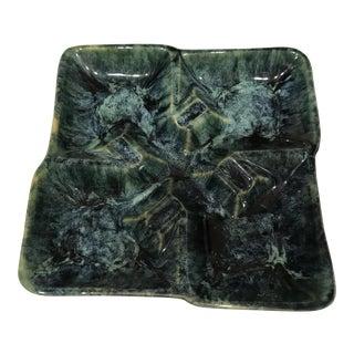 McCoy Green Ceramic Ashtray