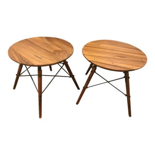 Modern Side Tables - A Pair