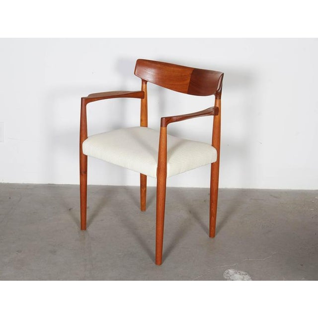 Danish Modern Arm Chairs by Knud Faerch, Pair - Image 4 of 8
