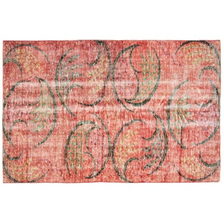 "Turkish Art Deco Rug - 4'9"" x 7'2"""