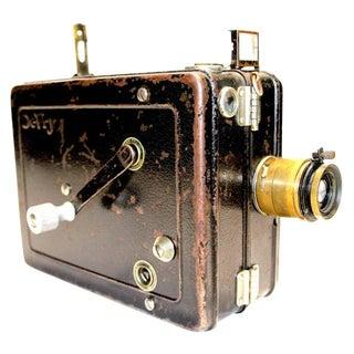 Devry Buster Keaton 'Lunchbox' 35mm Hand Crank Cinema Camera Circa 1920