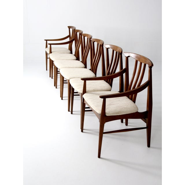 Mid-Century Danish Dining Chairs - Set of 6 - Image 2 of 11