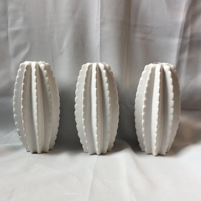 Ceramic Cactus Vases - Set of 3 - Image 2 of 5