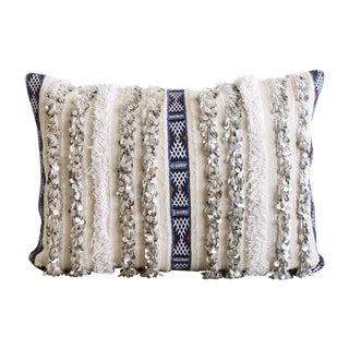 Moroccan Handira Wedding Blanket Pillow V