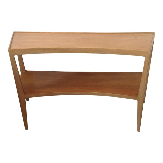 Image of Edward Wormley Curved Front Console