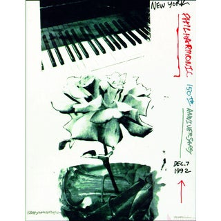 Robert Rauschenberg, New York Philharmonic 150th Anniversary, 1992 Poster