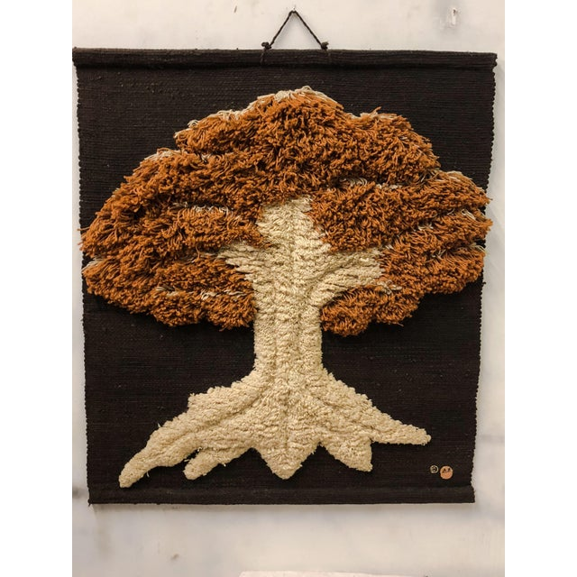 Don Freedman Macrame Wall Hanging of a Tree - Image 3 of 6