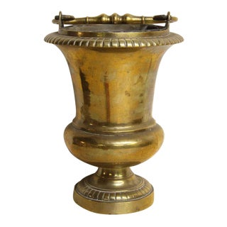 Brass Urn With Handle