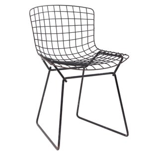 Knoll Bertoia Child Size Chair Black III