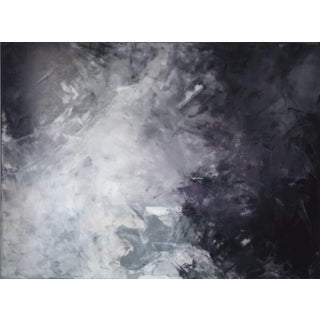 """""""Midnight"""" Original Abstract Art by Kris Gould"""
