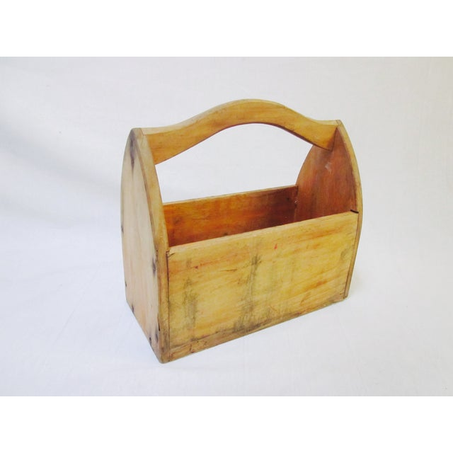 Wooden Tool Box Carrier Caddy - Image 2 of 5