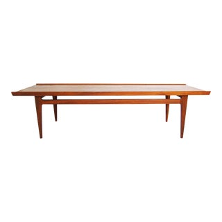 Danish Modern Finn Juhl Solid Teak Coffee Table