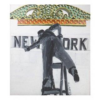 """New York"" Painting by Robert Weaver"