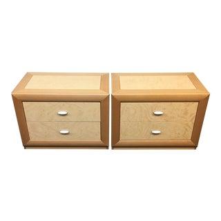 Custom Maple Nightstands - A Pair