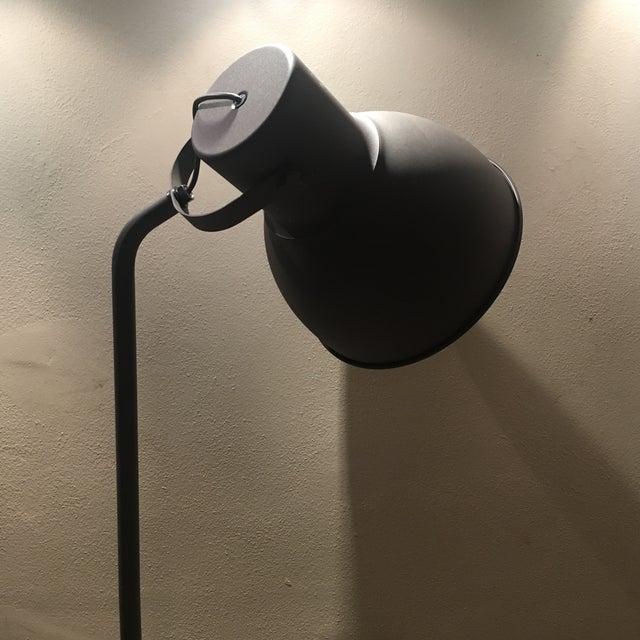 Dark Bronze Industrial Floor Lamp - Image 4 of 6